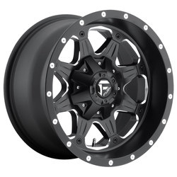 Fuel Wheels Boost D534 - Matte Black & Milled Rim - 16x8