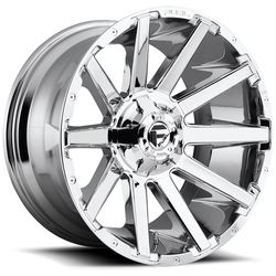 Fuel Wheels Contra D614 - Chrome