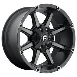 Fuel Wheels Coupler D556 - Black & Machined with Dark Tint