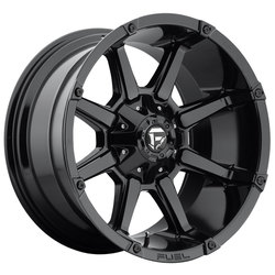 Fuel Wheels Coupler D575 - Gloss Black - 22x12