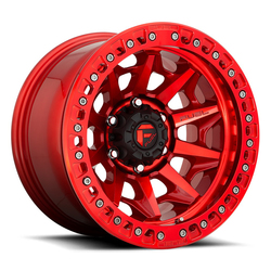 Fuel Wheels Fuel Wheels Covert Beadlock D113 - Gloss Red - 17x9