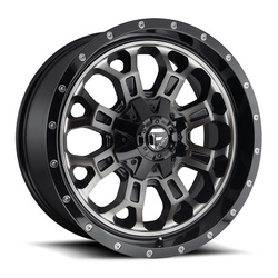 Fuel Wheels Crush D561 - Gloss Black Double Dark Tint
