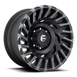 Fuel Wheels Cyclone D683 - Matte Black / Machined / Dark Tint