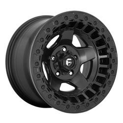Fuel Wheels D118 Warp - Matte Black Rim