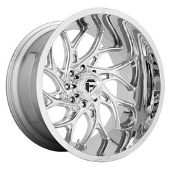 Fuel Wheels D740 Runner - Chrome Rim