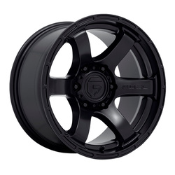 Fuel Wheels D766 Rush - Satin Black Rim