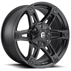 Fuel Wheels Dakar D624 - Matte Black