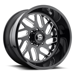 Fuel Wheels FF29 - Gloss Black & Milled Rim