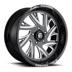 Fuel Wheels Fuel Wheels FF41 DE41 - Gloss Black / Milled