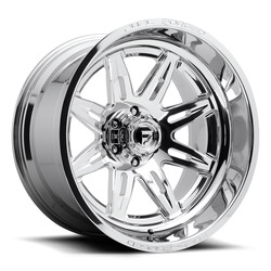 Fuel Wheels FFC26 DA26 - Polished - 22x14