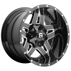 Fuel Wheels Fuel Wheels Full Blown D254 - Gloss Black & Milled