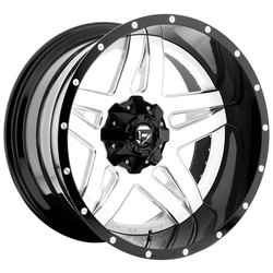 Fuel Wheels Fuel Wheels Full Blown D255 - Gloss White / Milled