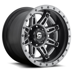 Fuel Wheels Fuel Wheels Hostage II D232 - Anthracite / Matte Black