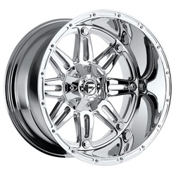 Fuel Wheels Hostage D530 - Chrome Rim - 22x9.5