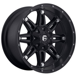 Fuel Wheels Hostage D531 - Matte Black Rim - 17x8.5