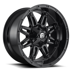 Fuel Wheels Hostage D625 - Gloss Black