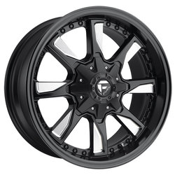 Fuel Wheels Hydro D603 - Matte Black & Milled