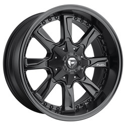 Fuel Wheels Fuel Wheels Hydro D604 - Matte Black
