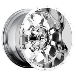 Fuel Wheels Krank D516 - Chrome Rim - 22x11