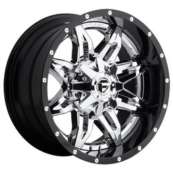 Fuel Wheels Lethal D266 - Chrome