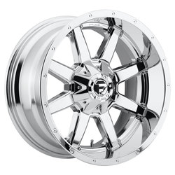 Fuel Wheels Maverick D536 - Chrome Rim - 22x9.5
