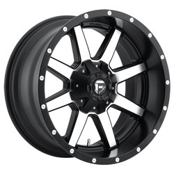 Fuel Wheels Fuel Wheels Maverick D537 - Black & Machined