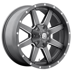 Fuel Maverick D542 - Anthracite & Milled Spoke
