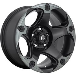 Fuel Wheels Fuel Wheels Menace D685 - Matte Black / Machined / Dark Tint