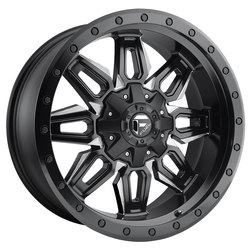 Fuel Wheels Fuel Wheels Neutron D591 - Black & Milled