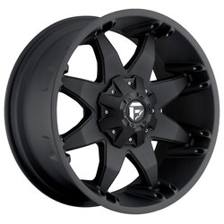 Fuel Wheels Octane D509 - Matte Black Rim - 20x12