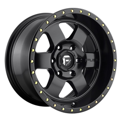 Fuel Wheels Podium D618 - Satin Black