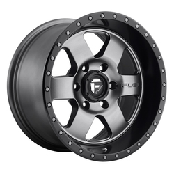 Fuel Wheels Podium D619 - Anthracite with Black Lip