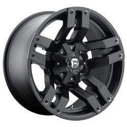 Fuel Wheels Pump D515 - Matte Black Rim - 18x9