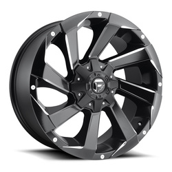 Fuel Wheels Fuel Wheels Razor D592 - Black & Milled