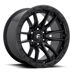 Fuel Wheels Rebel 6 D679 - Matte Black Rim