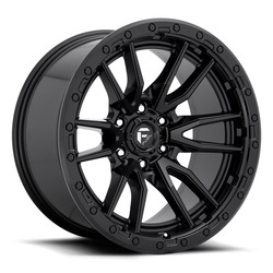Fuel Wheels Rebel D679 - Matte Black Rim - 22x10
