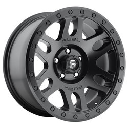 Fuel Wheels Recoil D584 - Matte Black Rim - 17x8.5