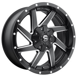Renegade D594 - Black & Milled - 17x9