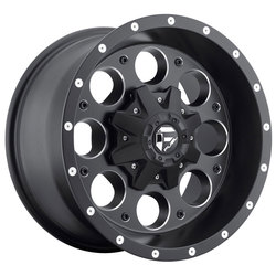 Fuel Wheels Revolver D525 - Matte Black & Milled Rim - 16x8