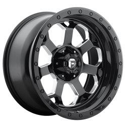 Fuel Savage D563 - Gloss Black / Milled