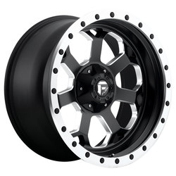 Fuel Wheels Fuel Wheels Savage D565 - Matte Black / Milled