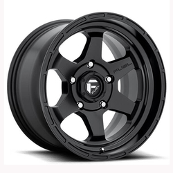Fuel Wheels Shok D664 - Matte Black Rim - 17x10