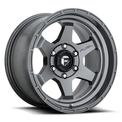 Fuel Wheels Shok D665 - Anthracite Rim - 17x10