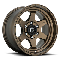 Fuel Wheels Shok D666 - Bronze Rim - 17x10