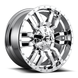 Fuel Wheels Sledge D631-Chrome Rim - 22x10