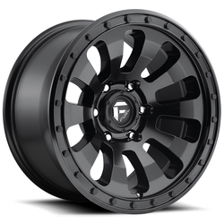 Fuel Tactic D630 - Matte Black - 20x9