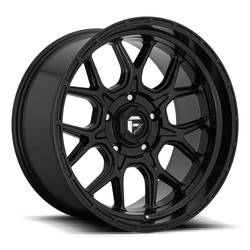 Fuel Wheels Tech D670 - Matte Black