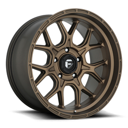 Fuel Wheels Tech D671 - Bronze Rim - 20x9