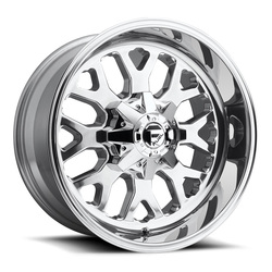 Fuel Wheels Titan D586 - Polished Rim - 20x12