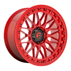 Fuel Wheels Trigger D758 - Gloss Red Rim - 20x9